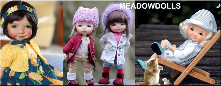 MY MEADOWS SAFFI PATTY GIGI BAILEY MYMEADOWS DOLLS