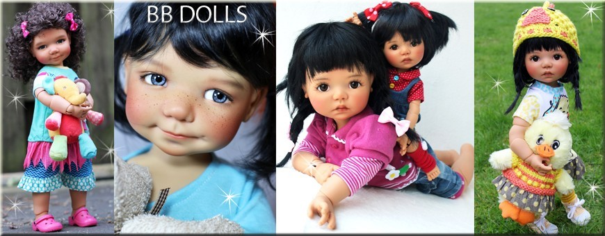 "MY MEADOWS GOTZ AG DOLLS / 40 CM -18"" SAFFI BAILEY SCARLETT..."
