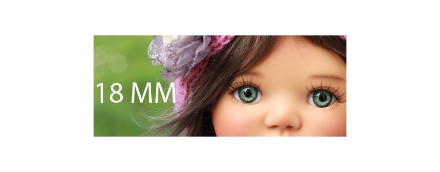 BJD EYES 18 MM : MY MEADOWS SAFFI BAILEY REBORN DOLL...