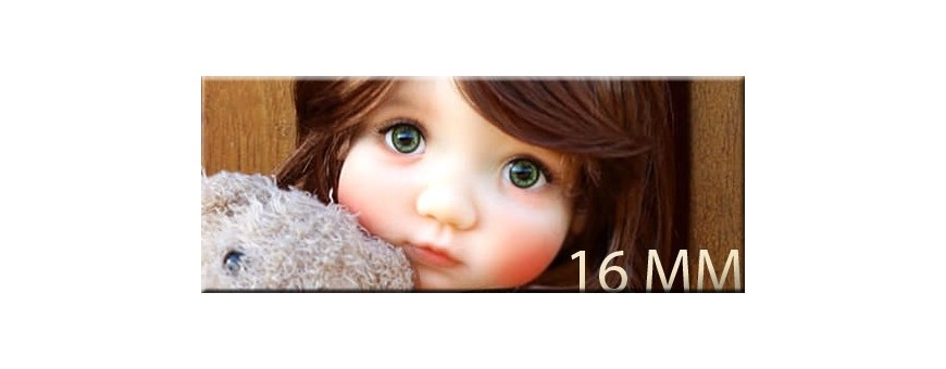 BJD EYES 16 MM : MEADOWDOLLS MAE SD IPLEHOUSE REBORN DOLL...