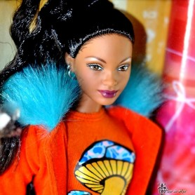 BARBIE AA AFRO AMERICAN THAT'S SO RAVEN COLLECTION COLLECTOR NRFB