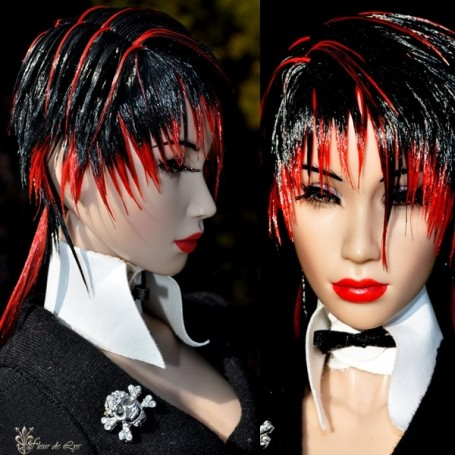 J-ROCK PATTART WIG FOR SYBARITE AND NUMINA DOLLS