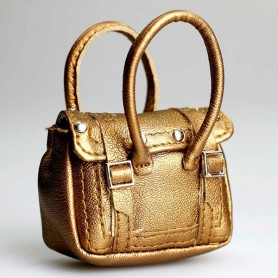 HAND BAG GOLD VOGUE COLLECTION BARBIE SILKSTONE FASHION ROYALTY SYBARITE TONNER ...