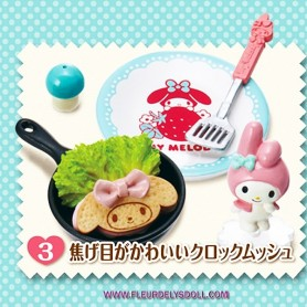 RE-MENT MINIATURE MY MELODY KITCHEN LATI YELLOW BARBIE FASHION ROYALTY BLYTHE PULLIP DIORAMAS DOLLHOUSE