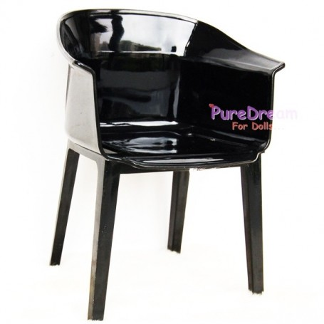 CHAISE FAUTEUIL DESIGNER CRYSTAL BARBIE FASHION ROYALTY BLYTHE PULLIP MOMOKO MONSTER HIGH DOLLHOUSE DIORAMA 1/6