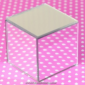MIRROR CUBE TABLE MINIATURE POUPÉE BJD SYBARITE BARBIE LATI YELLOW PUKIFEE STODOLL FASHION ROYALTY DIORAMA DOLLHOUSE