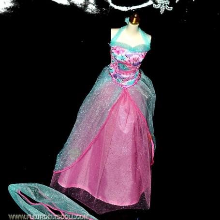 DRESS OUTFIT BARBIE FASHION ROYALTY SILKSTONE
