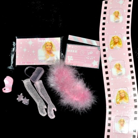 LOT ACCESSOIRES MODE CINEMA BARBIE FASHION ROYALTY SILKSTONE BJD BLYTHE PULLIP...