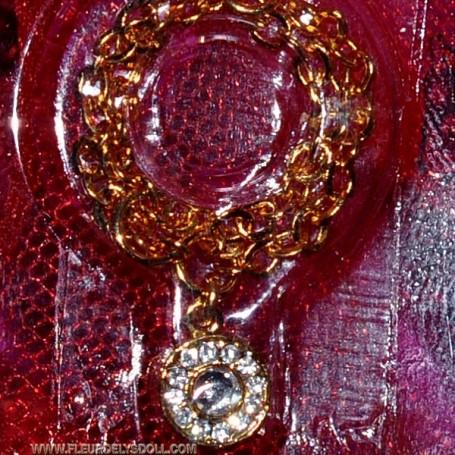 NECKLACE JEWEL GOLDEN DIVA BARBIE FASHION ROYALTY SILKSTONE MOMOKO...