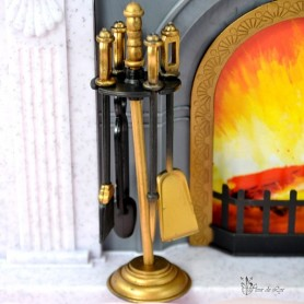FIREPLACE ACCESSORIES FOR BARBIE FASHION ROYALTY SILKSTONE MOMOKO BLYTHE PULLIP SYBARITE TONNER BJD