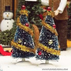 XMAS TREE 12 CM MINIATURE MINIATURE LATI YELLOW PUKIFEE LATI WHITE PUKIPUKI BLYTHE PULLIP DOLLHOUSE DIORAMA 1:12 1:6