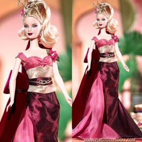 ROBE BARBIE EXOTIC INTRIGUE FASHION ROYALTY SILKSTONE