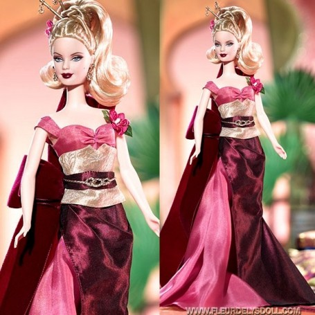 EXOTIC INTRIGUE DRESS BARBIE FASHION ROYALTY SILKSTONE