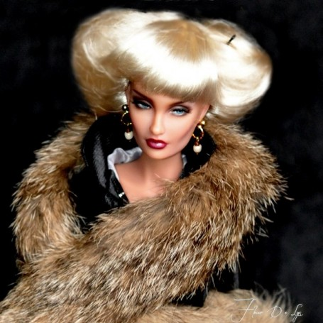 HAUTE COUTURE CHANELA WIG FOR SYBARITE TONNER JAMIESHOW BJD MONSTER HIGH...