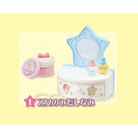 LITTLE TWIN STARS COIFFEUSE MINIATURE LATI YELLOW STODOLL OB11 PUKIFEE DIORAMA 1:6