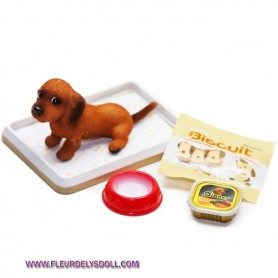 RE-MENT MINIATURE DOG HOME ACCESSORIES COLLECTION BARBIE LATI YELLOW BJD BLYTHE PULLIP DIORAMAS PLAYSCALE