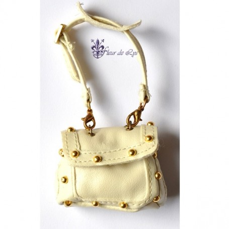 SAC A MAIN CHIC CREAM BARBIE FASHION ROYALTY SILKSTONE SYBARITE TONNER BJD ...