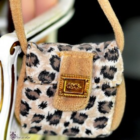 SAC A MAIN LEOPARD BARBIE SILKSTONE FASHION ROYALTY SYBARITE TONNER ...