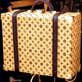 BIG SUITCASE LV STYLE BARBIE SILKSTONE FASHION ROYALTY SYBARITE TONNER ...