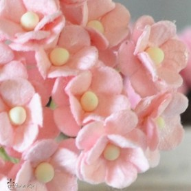 BEAUTIFUL PINK FLOWERS MINIATURE LATI YELLOW PUKIFEE BJD BLYTHE PULLIP BARBIE DOLL ROOM DIORAMA DOLLHOUSE