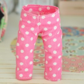 "PINK PANTS LEGGING OUTFIT FOR BJD LATI YELLOW PUKIFEE AND OTHER 6"" DOLLS"