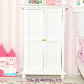 LOVELY WARDROBE CLOSET BJD LATI YELLOW PUKIFEE LATIDOLL FAIRYLAND DOLLHOUSE DIORAMA FURNITURE 1:12