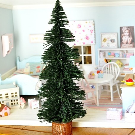 BIG XMAS TREE 30 CM MINIATURE MINIATURE LATI YELLOW PUKIFEE LATI WHITE PUKIPUKI BLYTHE PULLIP DOLLHOUSE DIORAMA 1:12 1:6