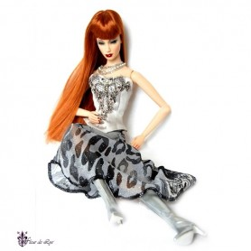 BOOTS SILVER SYBARITE TONNER FICON JAMIESHOW DOLLS