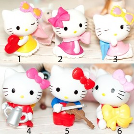 "HELLO KITTY MINIATURE 3 CM BJD FOR BJD LATI YELLOW PUKIFEE AND OTHER 6"" DOLLS"
