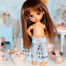 LEGGINGS BABY BLUE POUR BJD LATI YELLOW PUKIFEE ET AUTRES DOLLS 16 CM