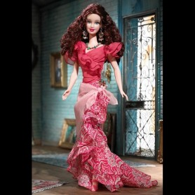 TENUE BARBIE BOHEMIAN GLAMOUR FASHION ROYALTY BARBIE SILKSTONE
