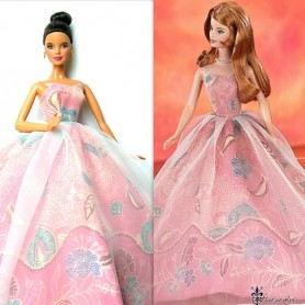 TENUE BARBIE BATIK FASHION ROYALTY BARBIE SILKSTONE