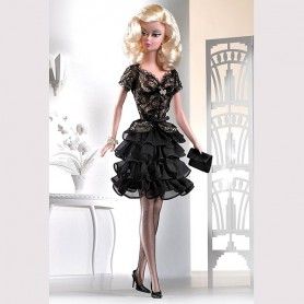 TENUE BARBIE TRACE OF LACE SILKSTONE EXCLUSIVE FASHION ROYALTY