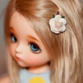 TINY HAIR CLIP 2 CM FOR CUSTOM BJD DOLL BLYTHE PULLIP LATI PUKIFEE MEADOWDOLLS