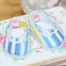 LOVELY SHOES PETITE PLAGE FOR BJD LATI WHITE AND OTHER SMALL DOLLS