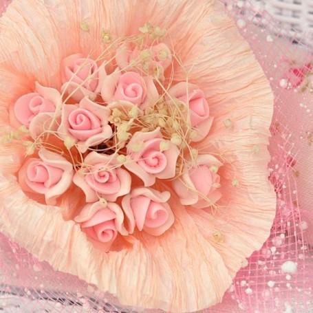 BEAUTIFUL FLOWERS IN BLOOM MINIATURE LATI YELLOW PUKIFEE BJD BLYTHE PULLIP BARBIE DOLL ROOM DIORAMA DOLLHOUSE
