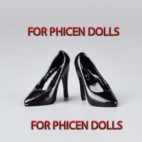 STILETTO SHOES HIGH HEELS FOR PHICEN DOLLS ACTION FIGURE KUMMIK HOT TOYS