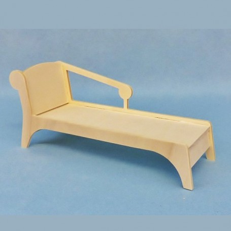 WOODEN LOUNGE CHAIR FOR BARBIE FASHION ROYALTY BLYTHE PULLIP MOMOKO MONSTER HIGH DOLLHOUSE DIORAMA 1/6