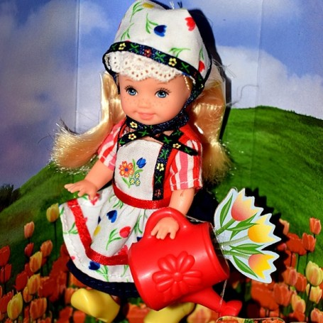 KELLY BARBIE THE NETHERLANDS MATTEL COLLECTOR FRIENDS OF THE WORLD