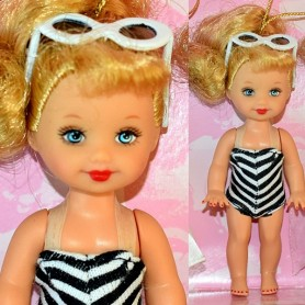 KELLY Bathing Suit 1 RETRO NOSTALGIC FAVORITES GIFTSET REPRO VINTAGE RARE BARBIE SHELLY MATTEL 2003