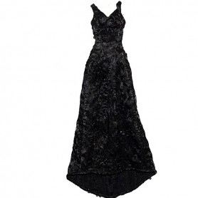 ROBE BLACK EVENING TENUE SYBARITE JAMIESHOW KINGDOM DOLLS TYLER TONNER 16""