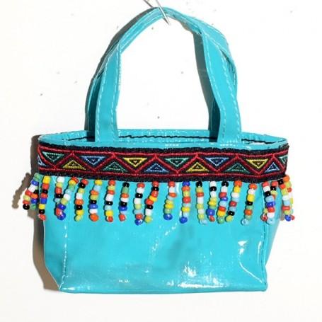 "BLUE HAND BAG FOR 16"" DOLL KINGDOM DOLLS SYBARITE JAMIESHOW TONNER TYLER NUMINA BJD"