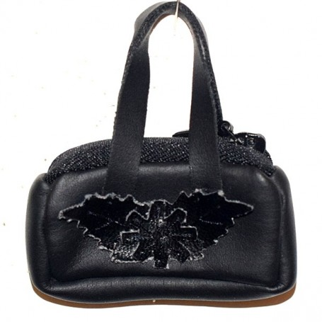 "BLACK HAND BAG FOR 16"" DOLL KINGDOM DOLLS SYBARITE JAMIESHOW TONNER TYLER NUMINA BJD"