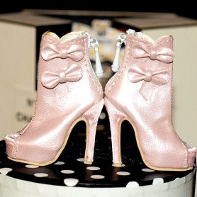 CHAUSSURES BOTTINES STILETTO JOE TAI SYBARITE HAUTE COUTURE SUPERFROCK SUPERDOLL