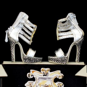 JOE TAI STILETTO SHOES SYBARITE HAUTE COUTURE SUPERFROCK SUPERDOLL