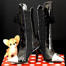BLACK BOOTS SYBARITE SUPERFROCK SUPERDOLL