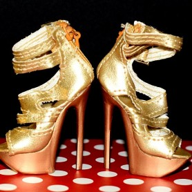 STILETTO SHOES JOE TAI SYBARITE HAUTE COUTURE SUPERFROCK SUPERDOLL
