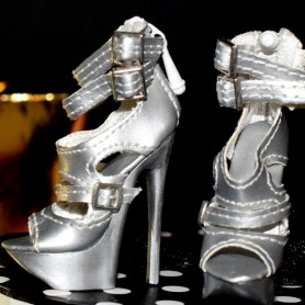 CHAUSSURES STILETTO JOE TAI SYBARITE HAUTE COUTURE SUPERFROCK SUPERDOLL