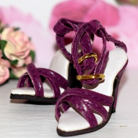 """READY TO RUMBA SHOES FOR SYBARITE TONNER KINGDOM 16"""" DOLLS"""
