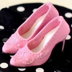 "LADY CHIC HIGH HEELS SHOES FOR SYBARITE TONNER KINGDOM DOLLS JAMIESHOW 16"" DOLLS"